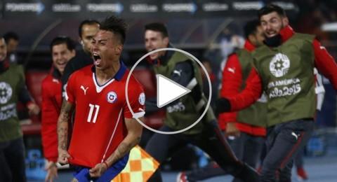 ثنائية فارغاس تطيح بمنتخب بيرو المكافح وتضع تشيلي في نهائي كوبا أمريكا
