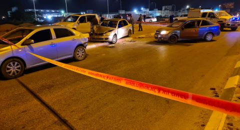 رهط: شجار بين افراد واصابة شرطيين