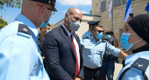 بحضور اوحانا، افتتاح مقر للشرطة في الطيرة