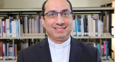 تعيين الاب اياد طوال نائبا تنفيذية لرئيس جامعة بيت لحم