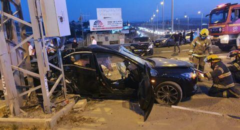 مصرع كمال طه من كابول واصابة زوجته بحادث في مدخل طمرة