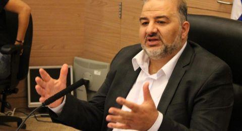الكنيست تبحث اقتراح النائب منصور عباس حول تمثيل العرب في الوظائف العامة وتحيله للجنة المالية