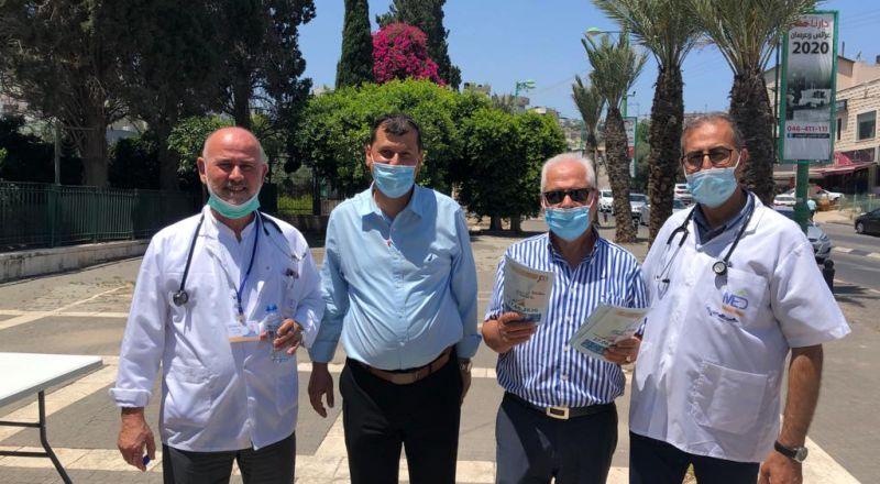 مبادرة لرفع الوعي لاستعمال الكمامات في المجتمع العربي