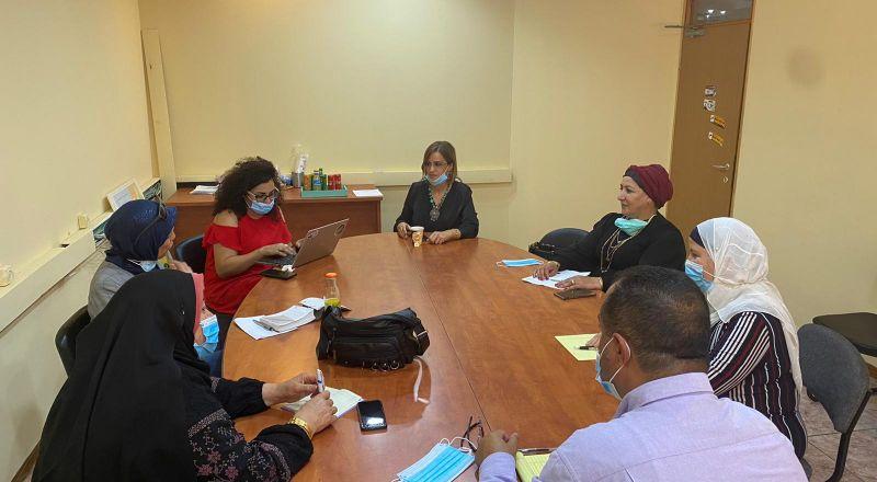 النائبة هبة يزبك في لقاء نسائي واسع بالناصرة لدعم قضايا المرأة