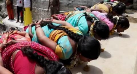 طقوس دينية هندية لزيادة الخصوبة عند النساء