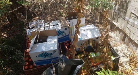 زجاجات حارقة في كفر مندا واعتقال مشتبهين