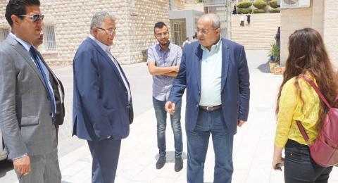 الدكتور أحمد الطيبي: أدعو طلبة الداخل الالتحاق بجامعة القدس دون تردد