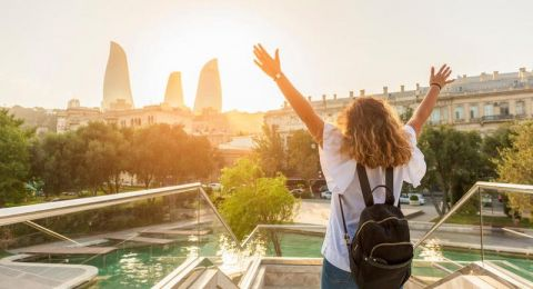 باكو الوجهة الأولى عند السياحة في اذربيجان