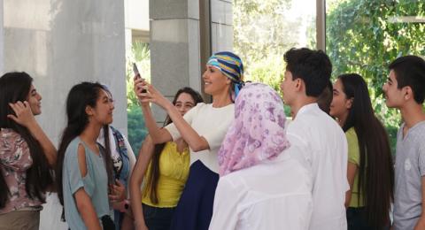 أسماء الأسد تستقبل المتفوقين بشهادة التعليم الأساسي لعام 2019