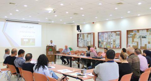 مجلس الكعبية يشارك في استكمال لجمعية الجليل لتنمية وتحسين الظروف البيئية والصحية في البلدة