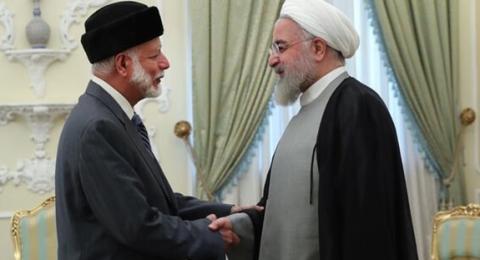 روحاني: إيران وعُمان تتحملان المسؤولية الرئيسية لضمان أمن منطقة