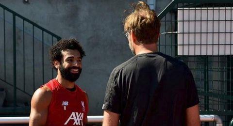 صلاح ينضم لتدريبات ليفربول
