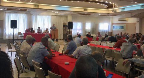 شفاعمرو: اجتماع للجبهة والحزب تحضيراً للمعركة الانتخابية والتأكيد على دعم المشتركة