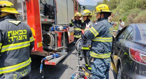 إصابات بينها خطيرة بحادث طرق مروع قرب يافة الناصرة