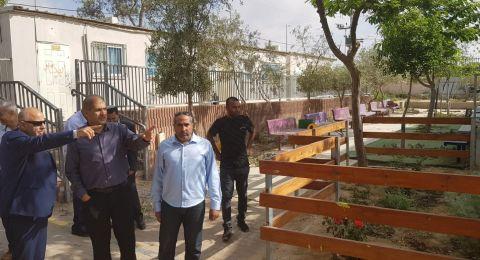 زيارة المدير العام للوزارة للمجالس المحليّة في المجتمع البدوي ( الكسيفه ، تل السّبع واللقية )