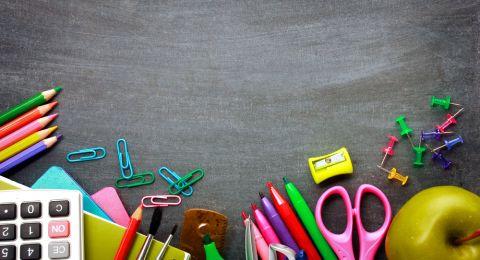 5 نصائح لشراء لوازم العودة إلى المدرسة