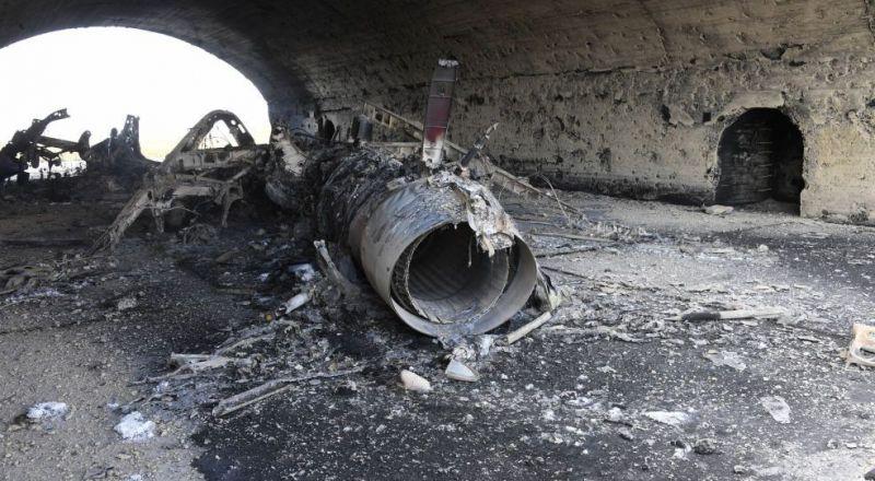 قتلى بانفجار في مطار الشعيرات السوري