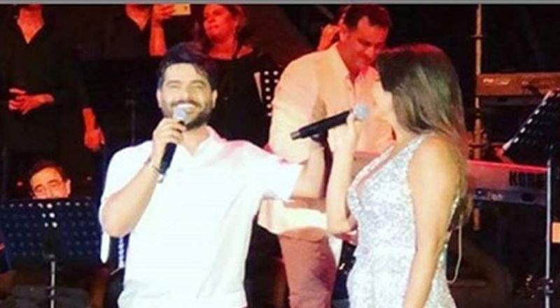 بعد القبل.. إليسا تعترف بحبها لناصيف زيتون أمام جمهور مهرجان أعياد بيروت!