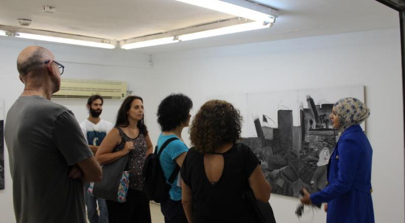 الخرّيجات العربيّات يبدعن في معارضهنّ الختاميّة خلال حفل تخرّج طلاب كليّة الفنون