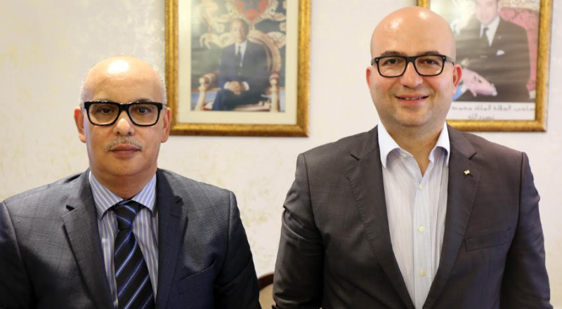 الهدمي خلال لقاءه السفير المغربي :إشادة بمواقف المغرب من قضية القدس