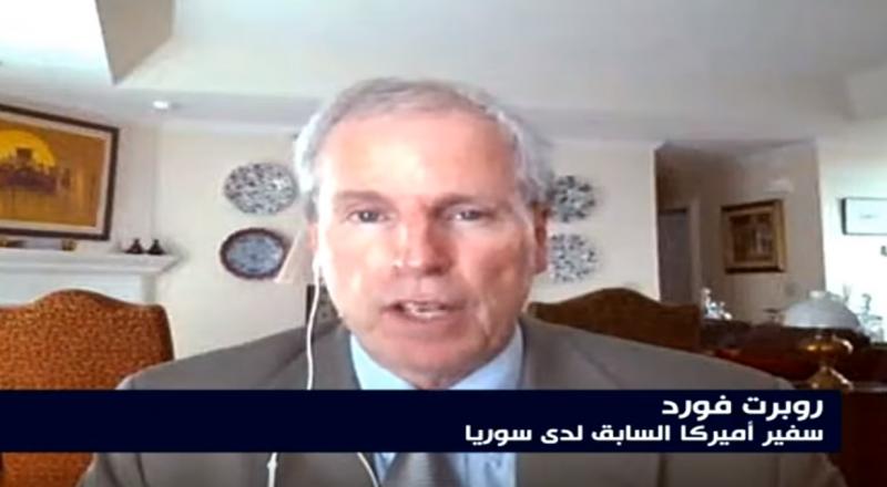 السفير الأميركي السابق في سوريا : واشنطن مقتنعة ببقاء الأسد