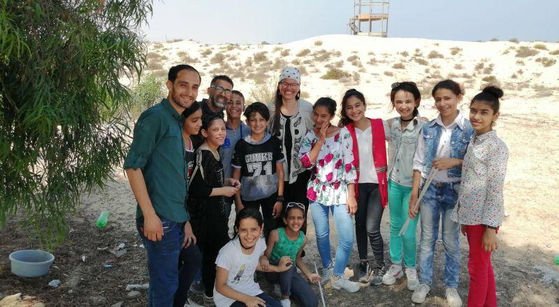 أطفالٌ يسافرون بأحلامهم... ويرسمون مستقبل المخيم المتحف الفلسطيني ينفذ برنامجه التعليمي في غزة