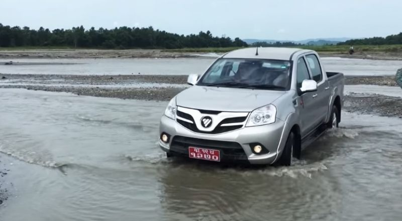 Foton الصينية تكشف عن سيارة