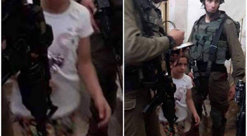 الجيش الاسرائيلي يستدعي طفلة للتحقيق بالخليل
