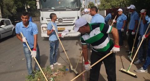 انطلاق الاسبوع التطوعي في بلدة كفرقرع