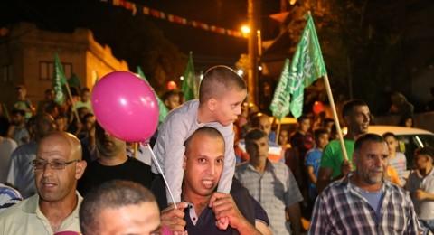 كفرقرع: مسيرة حاشدة إستقبالا للعيد
