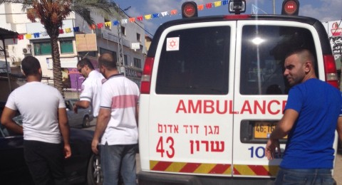 3 اصابات بحادث طرق على مدخل كفرقرع