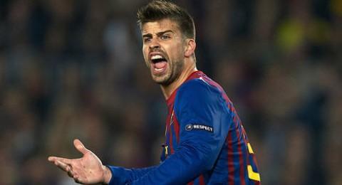 متى سيعود قلب دفاع برشلونة بيكيه الى الملاعب ؟؟؟