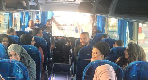 ام الفحم: عودة طلبة الجامعات للمدينة بهدف التصويت