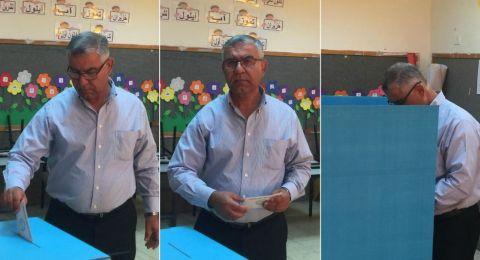 بستان المرج، رئيس المجلس احمد زعبي يدلي بصوته ويؤكد: ثقة المواطنين هي أساس كل شيء