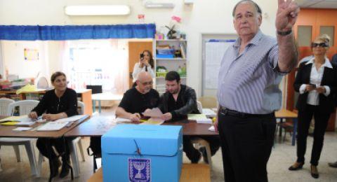 حيفا: يونا ياهف يدلي بصوته
