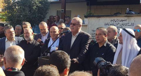 بركة يدعو لفتح تحقيق جديد حول مجزرة كفر قاسم