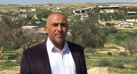 أبو عرار يطالب الحكومة بإقامة لجنة تحقيق برلمانية لفحص الأوضاع الصحية في النقب.
