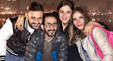 ياسمين عبدالعزيز واحمد حلمي ومنى زكي ورامز جلال يجتمعون في هذه الصورة!