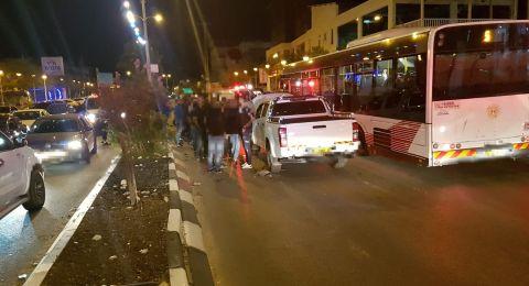 سخنين: اربع اصابات في حادث طرق على الشارع الرئيسي
