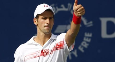 أبطال التنس يتنافسون في دبي