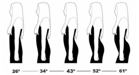 دراسة: كيف يفضل الذكور انحناءات جسد المرأة؟!