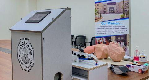 رئيس جامعة القدس يعلن نجاح الجامعة في انتاج جهاز تنفس طبي قابل للتصنيع محليًا وسد النقص