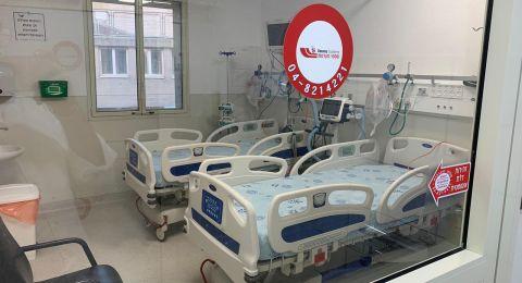 المستشفى الإنجليزي – النّاصرة: افتتاح قسم النّصر، القسم الأول في النّاصرة والقضاء لإستقبال مرضى الكورونا