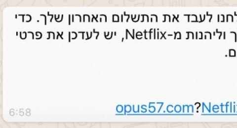 عمليات نصب تستهدف المواطنين تحت اسمي Netflix وpaypal