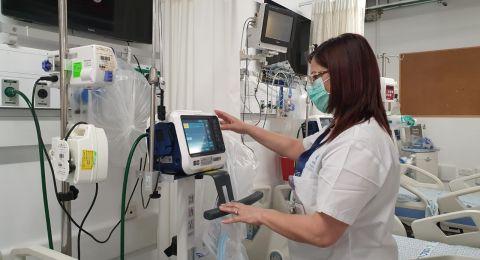 مستشفى صفد: تراجع يطرأ على حالة مريض الكورونا من البعنة