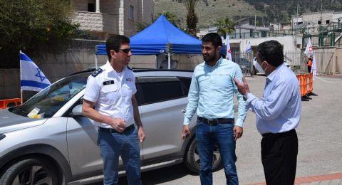 رئيس مجلس اكسال المحلي محمد شلبي: تم اجراء ٢٣٠ فحص كورونا
