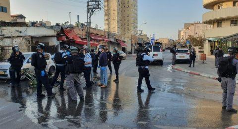 مواجهات بين شبان في يافا والشرطة .. اعتقالات وإصابات