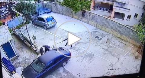 بالفيديو: إطلاق النار صباح اليوم على شاب في الناصرة أمام منزله