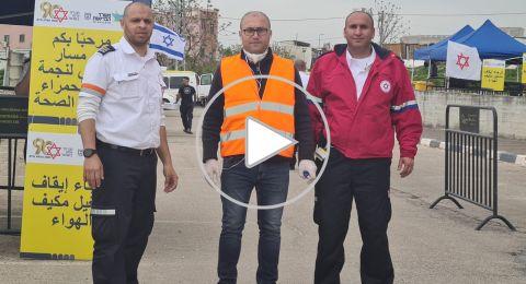 نضال عثمان لبكرا: المواطن العربي لا يجري الفحوصات والسبب نجمة داوود الحمراء!