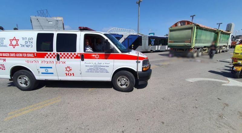 إصابة خطيرة لسيدة بحادث مروع في تل أبيب